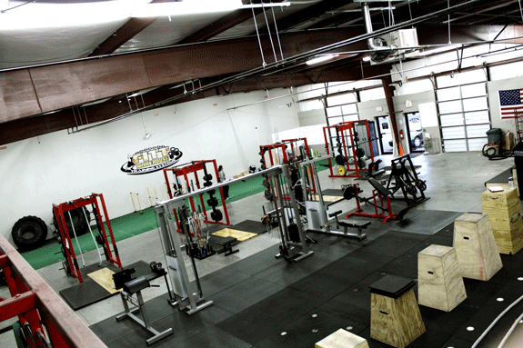 The FITT Warehouse Gym of Newnan, GA Just Outside Atlanta