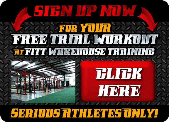 CLICK HERE to Sign Up Now for our FITT Warehouse FREE TRIAL WORKOUT!